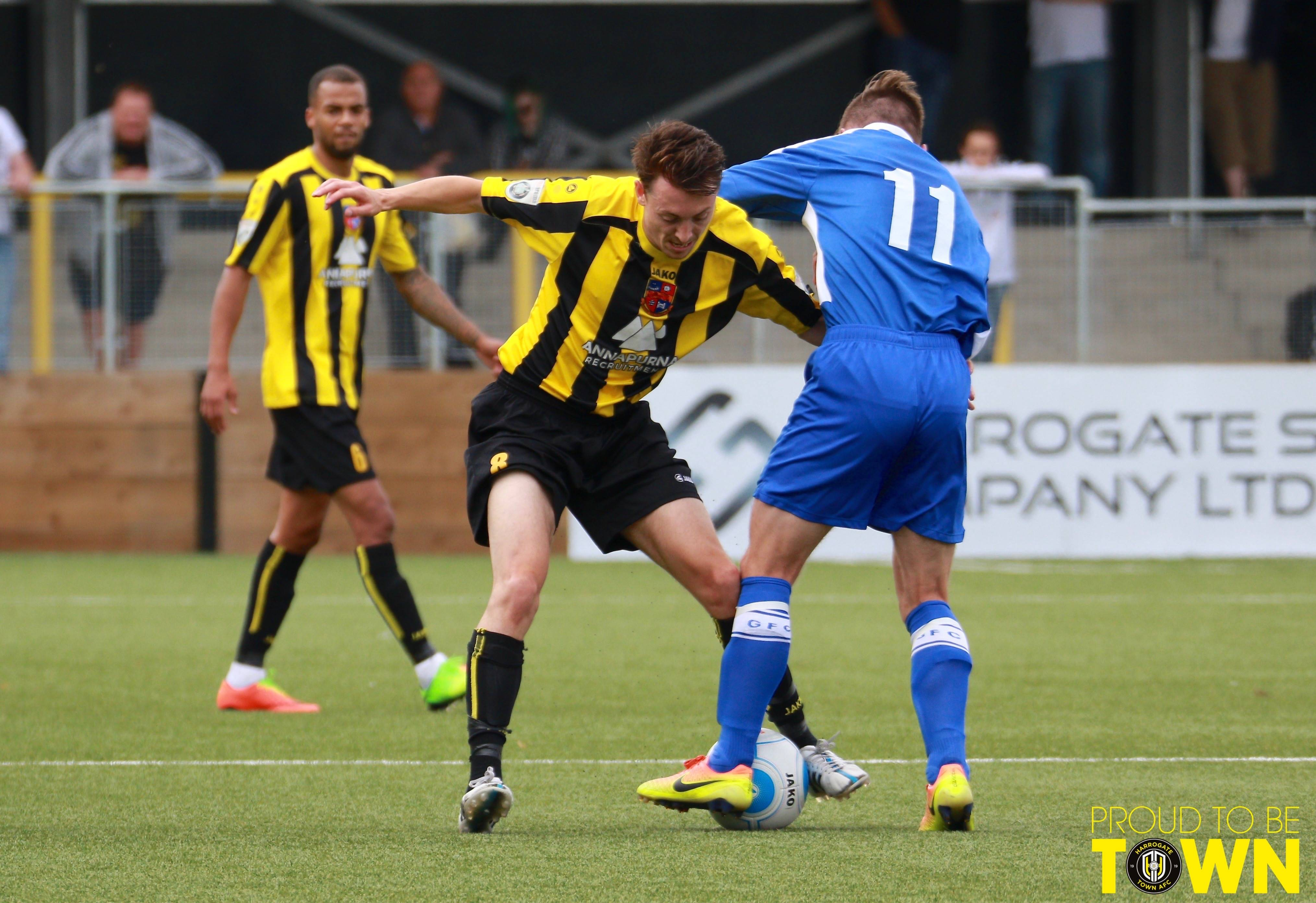 In Pictures: Town 3-0 Gateshead Image 7