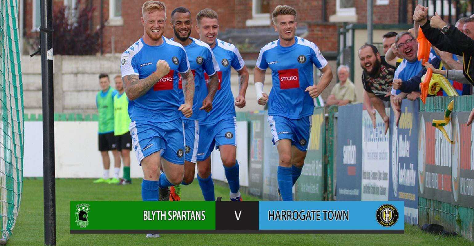 HIGHLIGHTS | Blyth Spartans 0-2 Harrogate Town