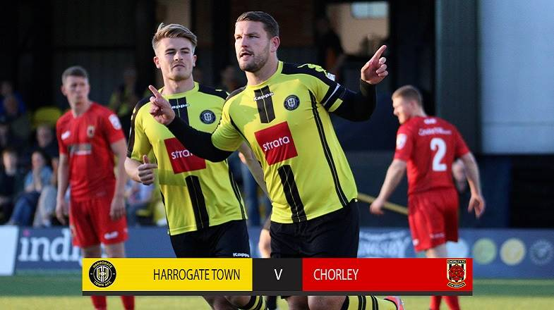 HIGHLIGHTS | Town 4-1 Chorley
