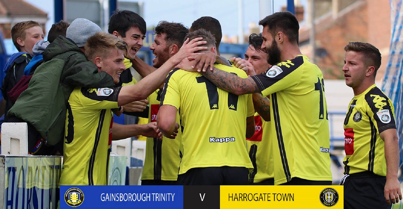 HIGHLIGHTS | Gainsborough 4 Town 5