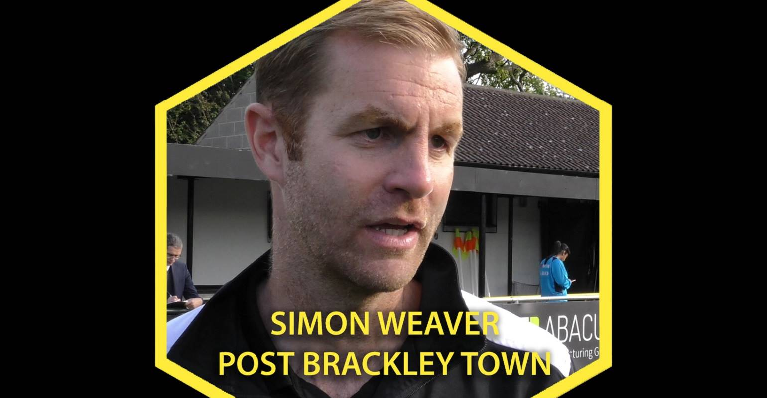 HTTV | Simon Weaver Post Brackley Town