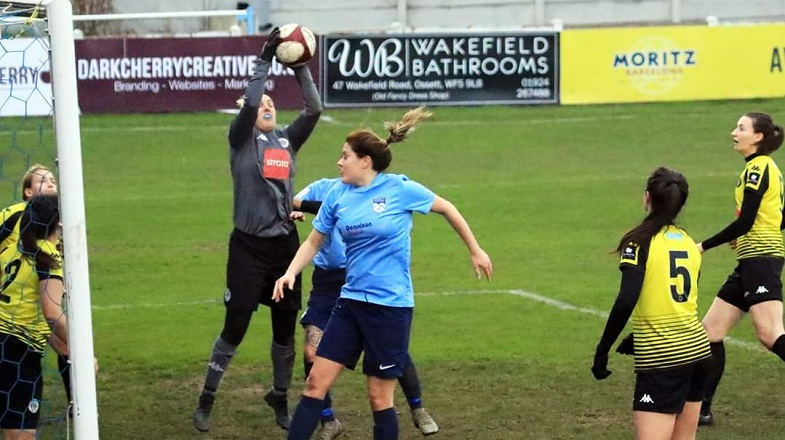 Ladies Into County Cup Semi-Final