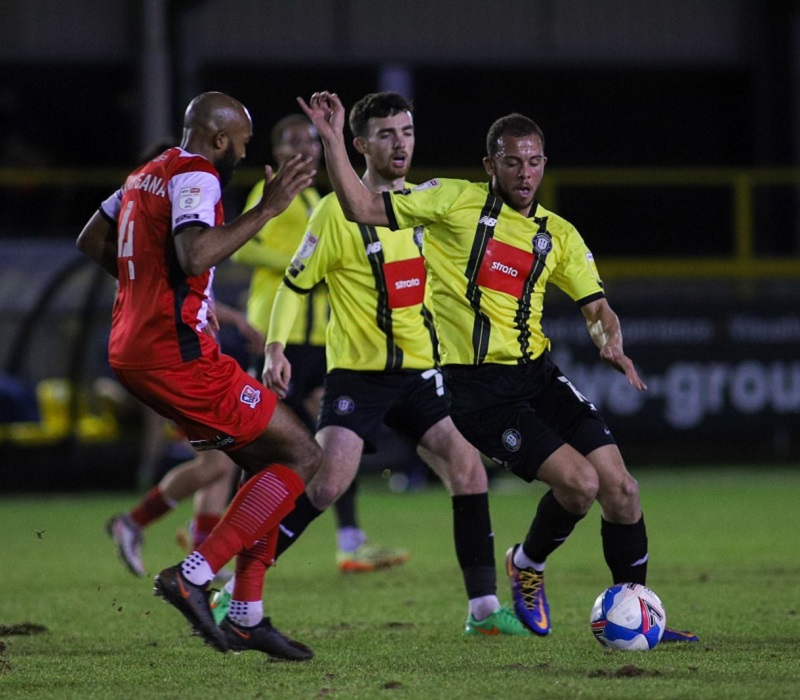 Town 0 - 0 Exeter - Resilient Town earn valuable point