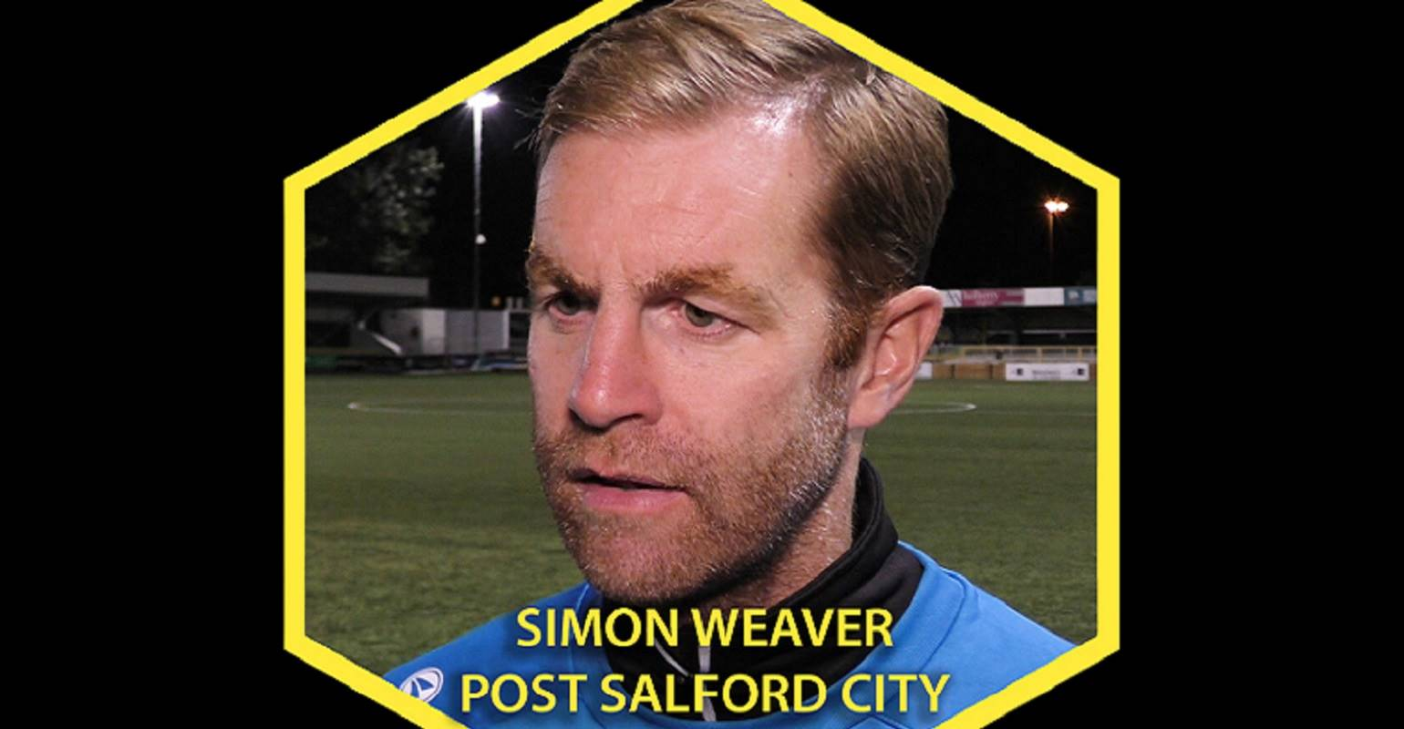 HTTV | Simon Weaver Post Salford City