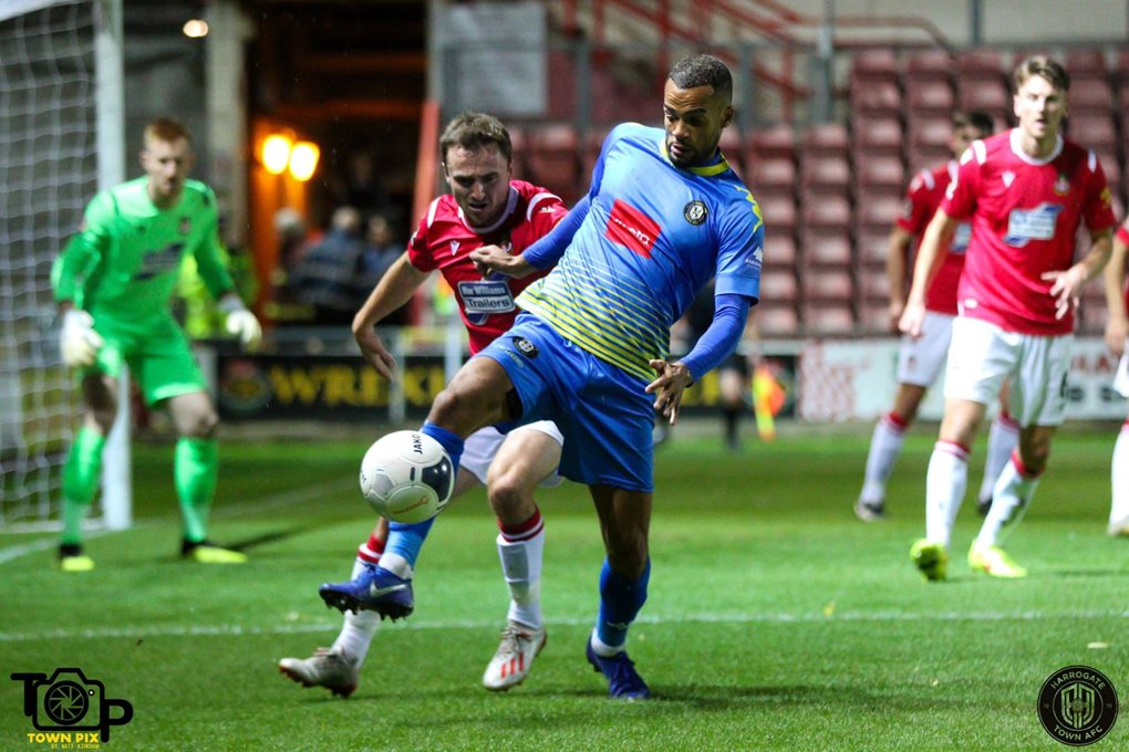 Wrexham Away Oct 19 Image 2