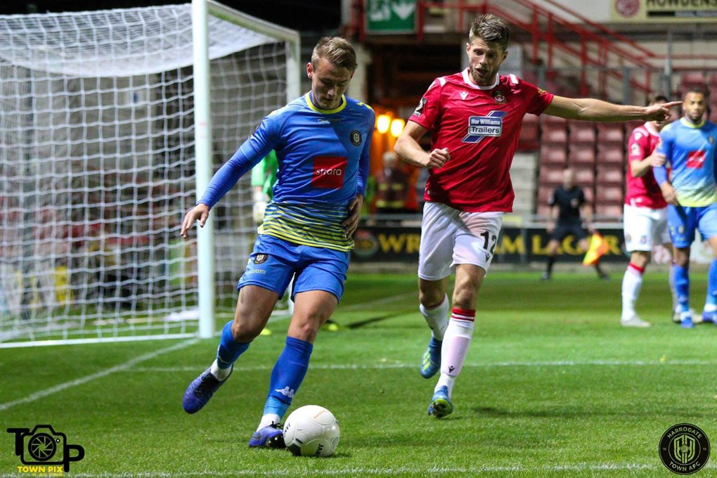 Wrexham Away Oct 19 Image 4
