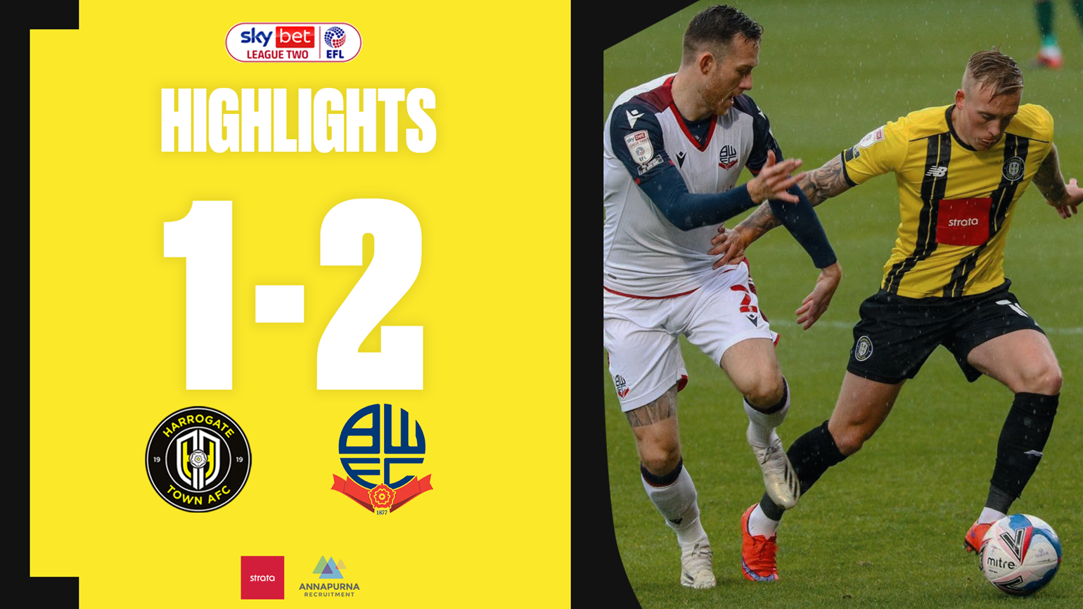 Town 1 Bolton Wanderers 2 Highlights