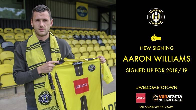 Aaron Williams Signs From Brackley