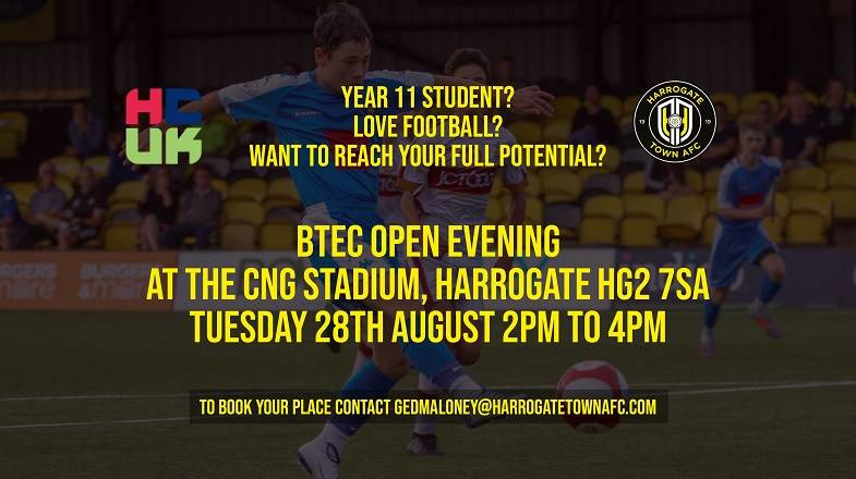 BTEC Open Day to Run Tuesday 28th August