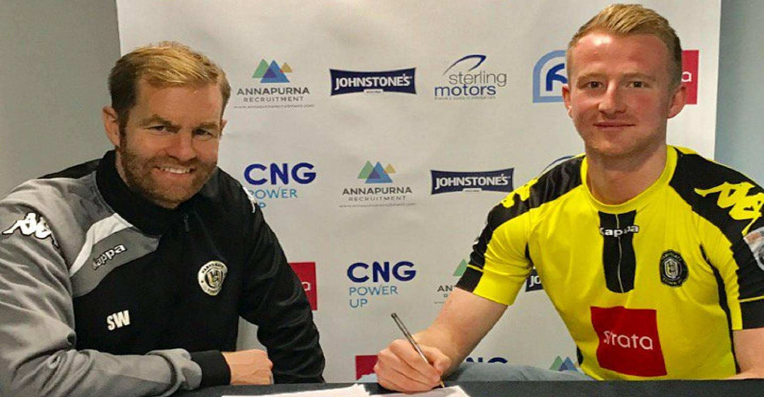 HTTV | Mark Beck Signs for Town