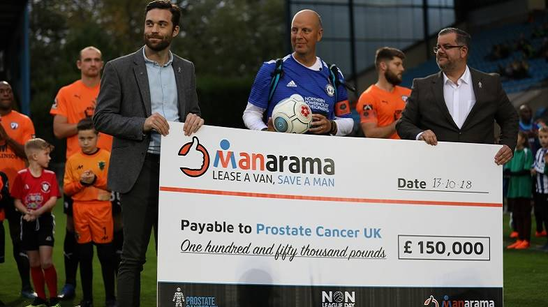 #MANarama Campaign raises £150,000 for Prostate Cancer UK