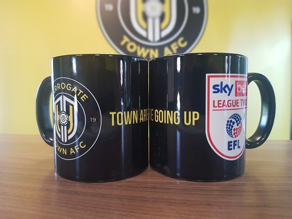 Town Are Going Up Mug