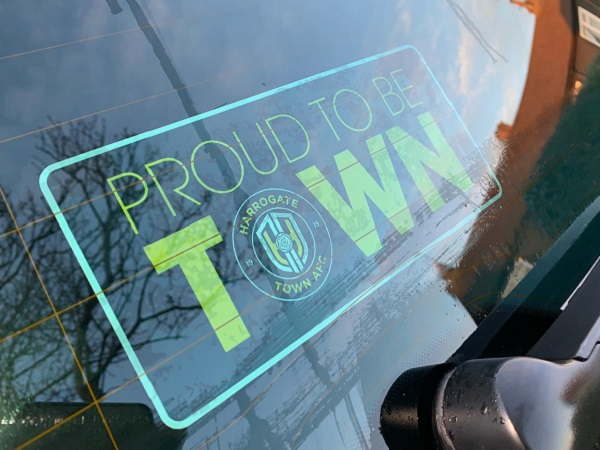 ProudToBeTown Car Sticker
