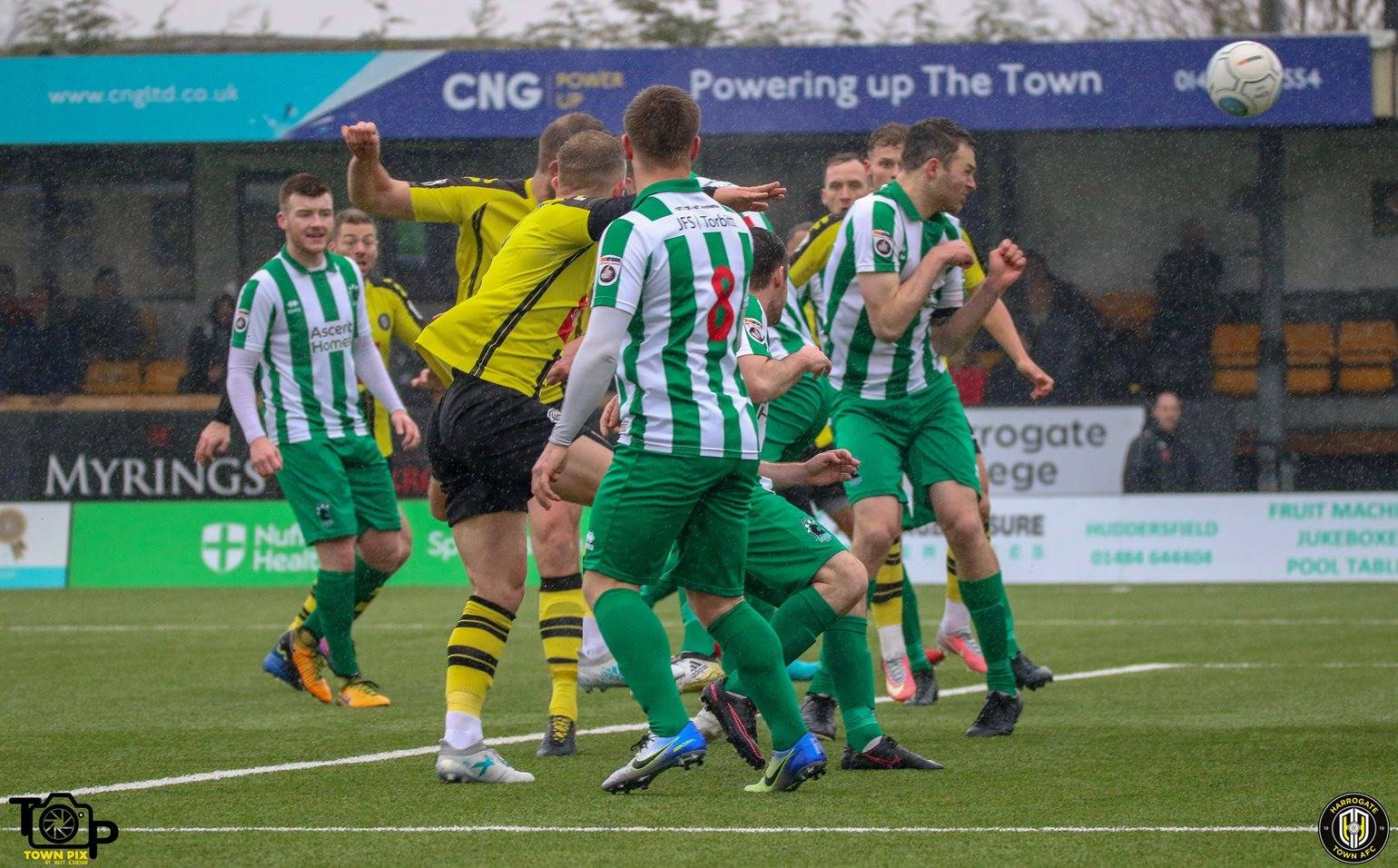 HTTV | Town 5 Blyth Spartans 1