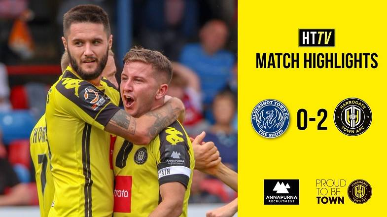 HTTV | Aldershot 0 Town 2 Highlights