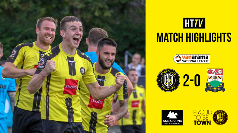 HTTV | Town 2 Barnet 0 Highlights