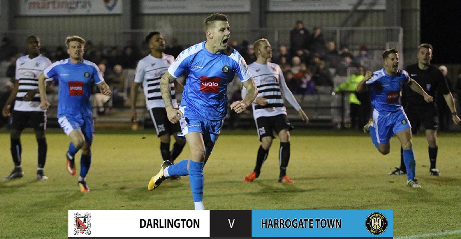 HTTV | Darlington 2 Town 3 Goals