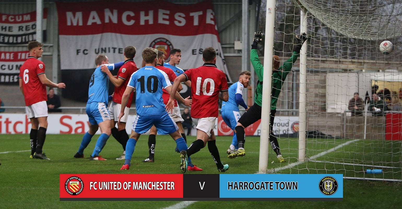 HTTV | FC United of Manchester 3 Town 2 Goals