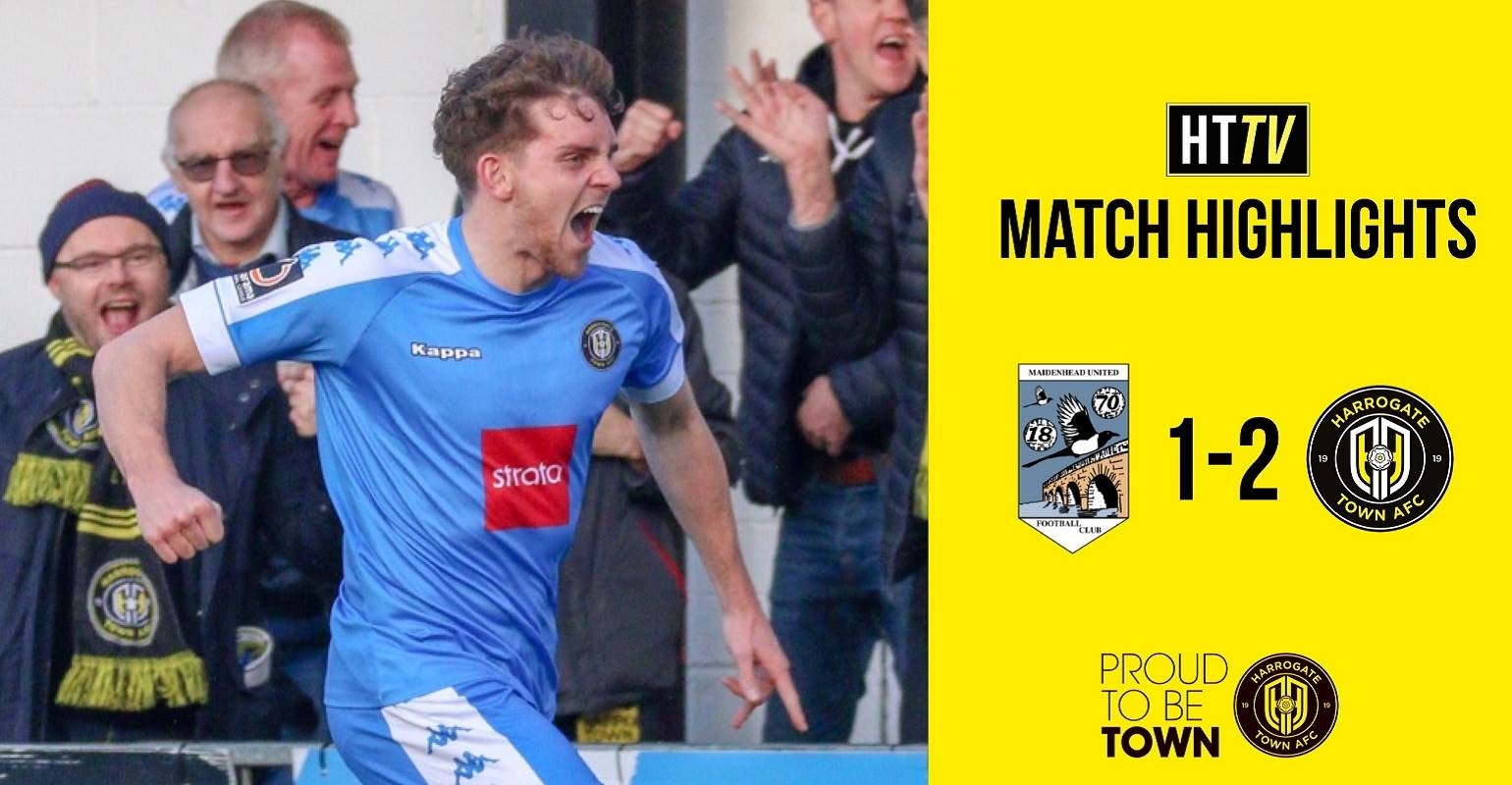 HTTV | Maidenhead 1 Town 2 Highlights