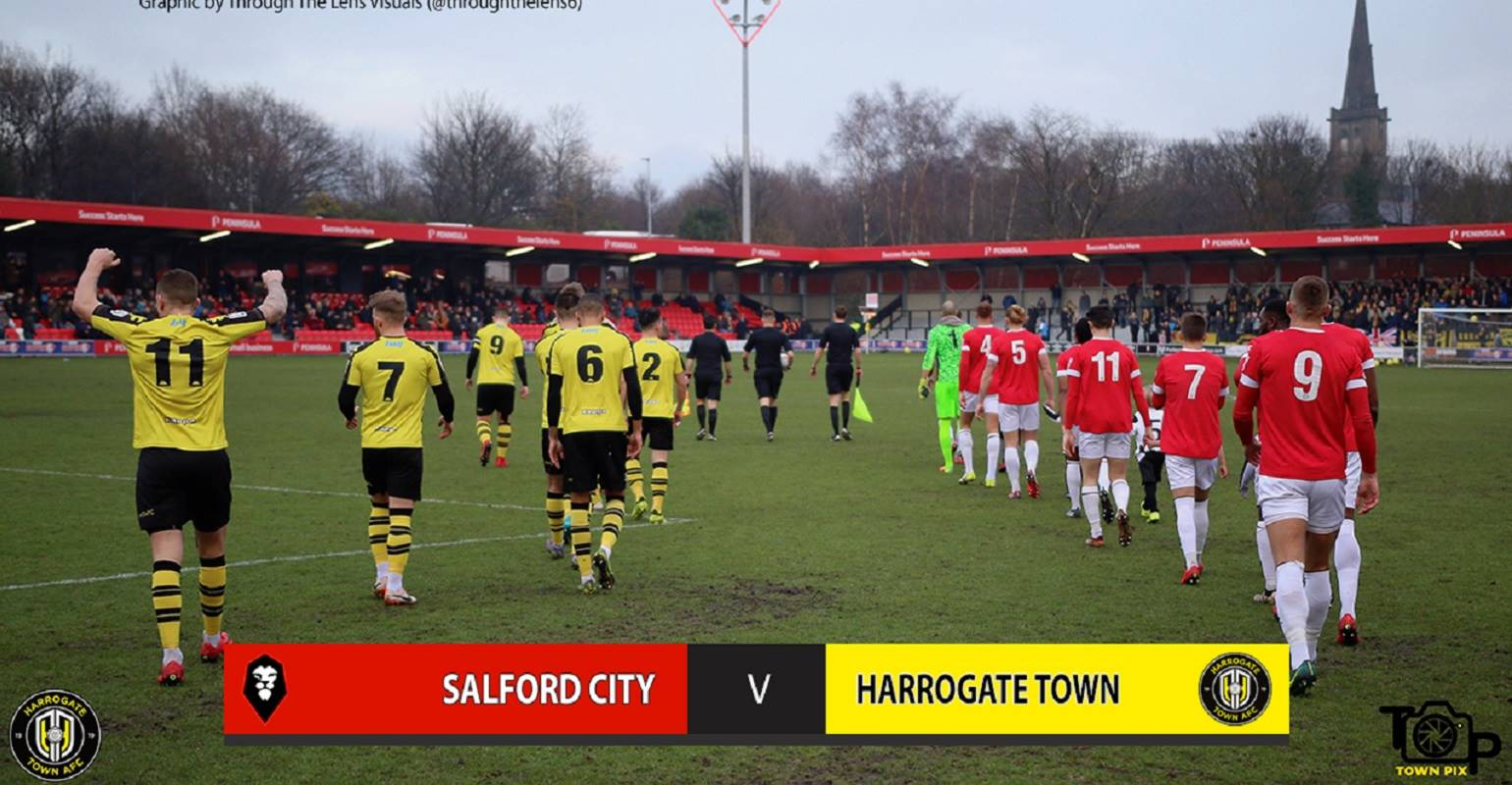 HTTV | Salford 2 Town 1 Highlights