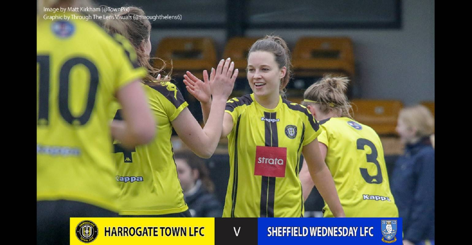LADIES | Town 8 Sheff Wed 0 Highlights