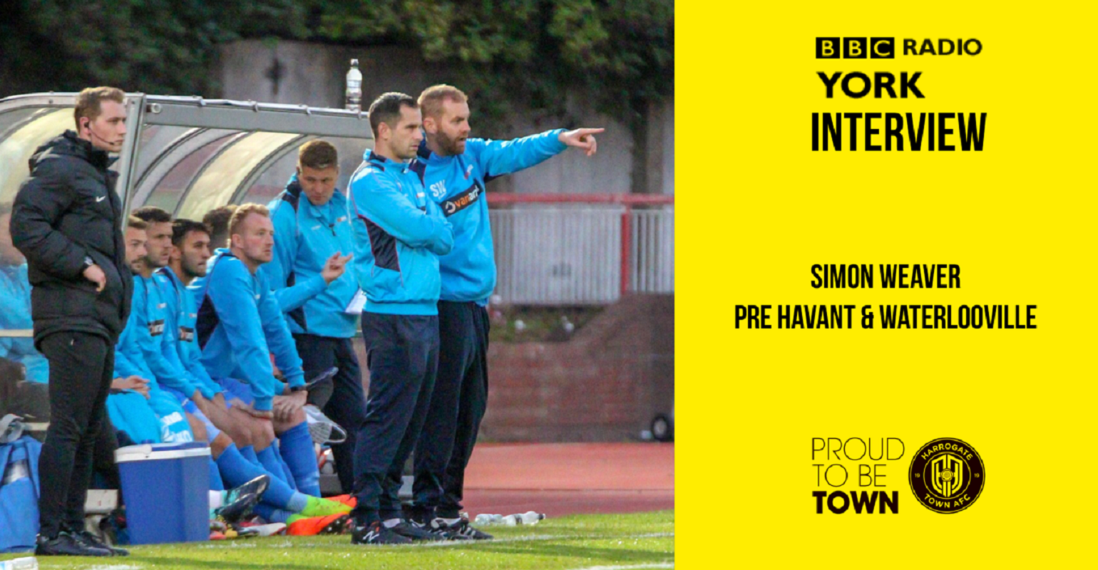 HTTV | Simon Weaver Pre Havant & Waterlooville
