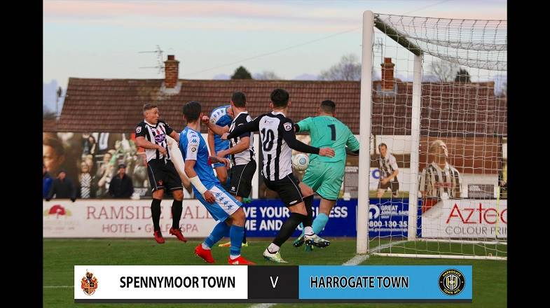 HTTV | Spennymoor 3 Town 1 Goals