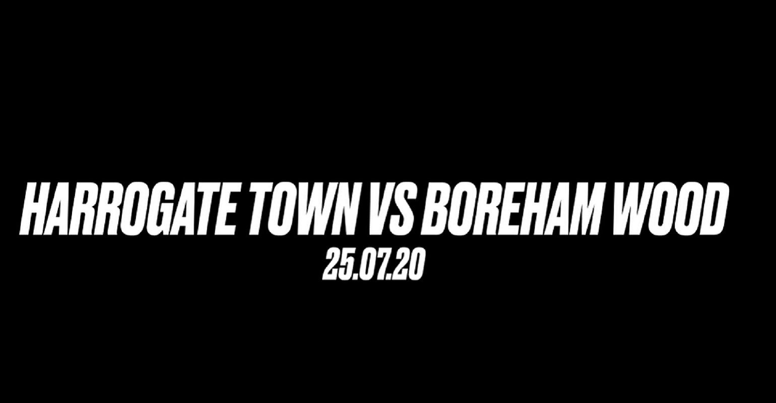 Town vs Boreham Wood - Winner Goes to Wembley