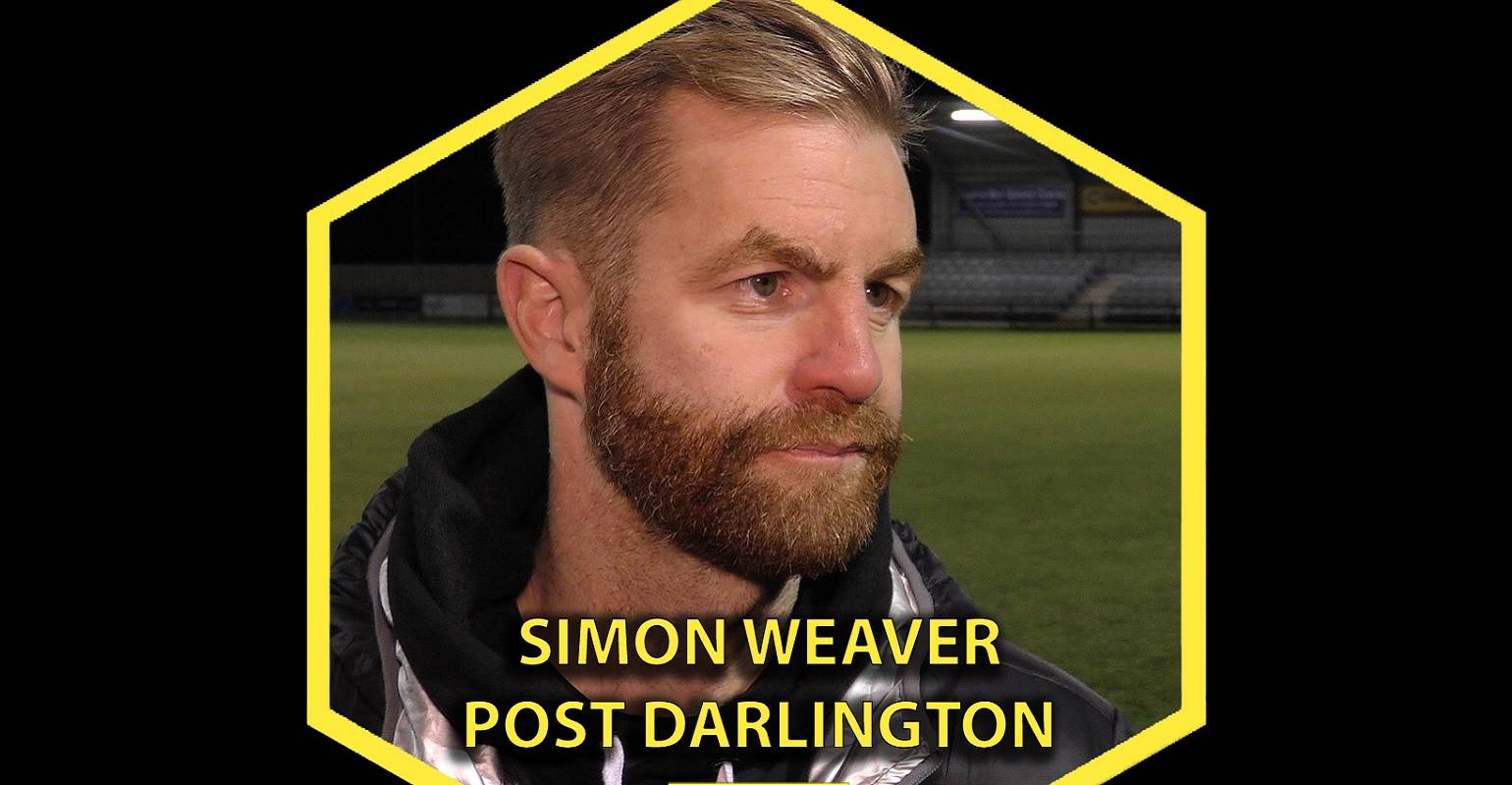 HTTV | Simon Weaver Post-Darlington FA Trophy