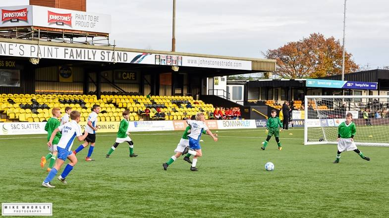 U11's Regional Finals to be played at The CNG Stadium
