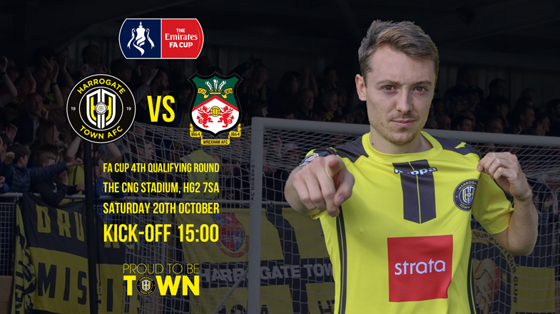 Wrexham FA Cup Ticket Update