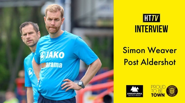 HTTV | Simon Weaver Post Aldershot