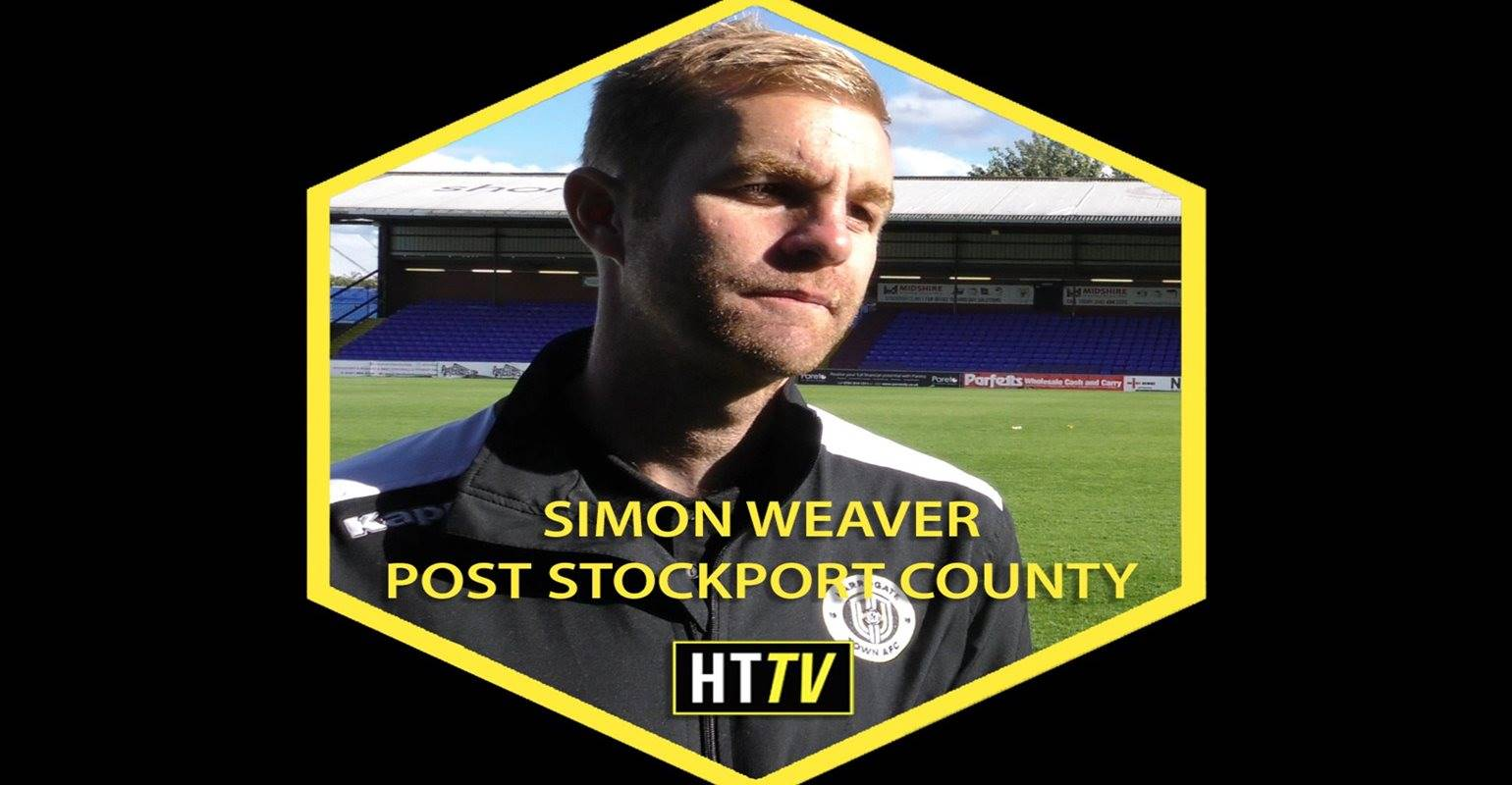 HTTV | Simon Weaver Post Stockport County