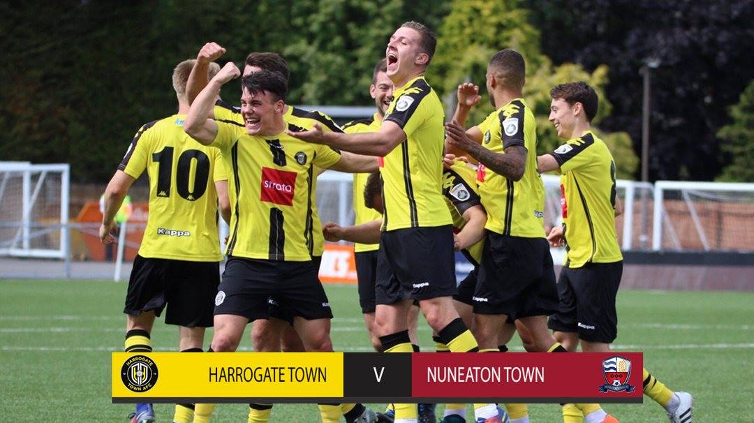 HIGHLIGHTS | Harrogate Town 4-0 Nuneaton Town